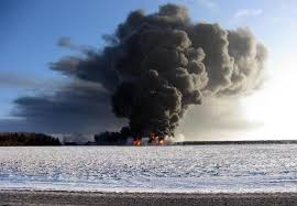 The derailment and explosions outside Casselton ND on Dec. 30, 2013 prompted an evacuation.