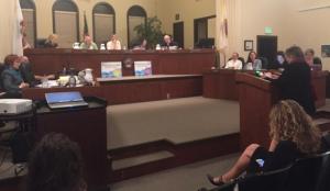 Linda Maio, Vice Mayor of Berkeley, spoke to the Planning commission.