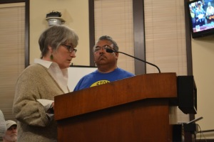 Marilyn Bardet of BSHC called for the project to be denied to protect the public health and safety.