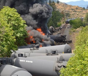 A derailment and fire like the one in Mosier, Oregon could happen in Davis.