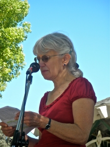 Lynne Nittler composed and narrated the Oil Train Theater.