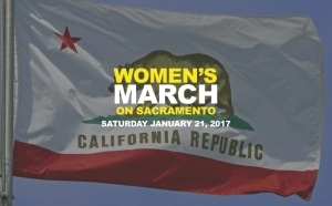The Women's March in Sacramento on January 21 begins in Southside Park at 10am with a rally at the capitol at noon.
